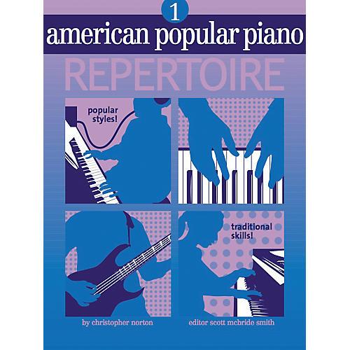 NV Group American Popular Piano Repertoire 1 Book/CD