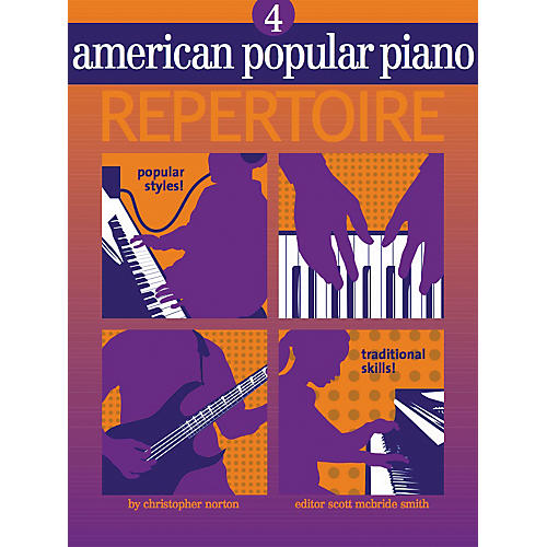 NV Group American Popular Piano Repertoire 4 Book/CD