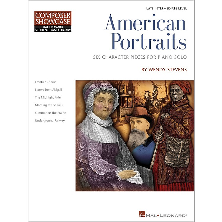 Hal LeonardAmerican Portraits - Six Character Pieces for Piano Solo - Composer Showcase Intermediate
