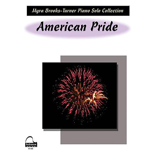 SCHAUM American Pride Educational Piano Series Softcover