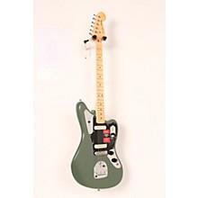 Fender American Professional Jaguar Maple Fingerboard Electric Guitar Level 2 Antique Olive 190839102133