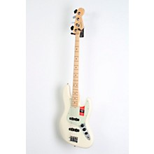 Fender American Professional Jazz Bass Maple Fingerboard Level 2 Olympic White 190839101884