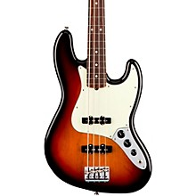 Fender American Professional Jazz Bass Rosewood Fingerboard Electric Bass 3-Color Sunburst