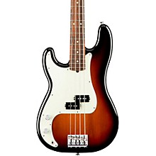 American Professional Left-Handed Precision Bass Rosewood Fingerboard 3-Color Sunburst