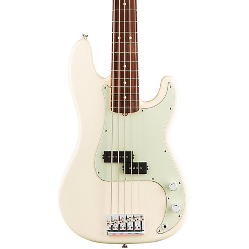 Fender American Professional Precision Bass V Rosewood Fingerboard Olympic White-thumbnail