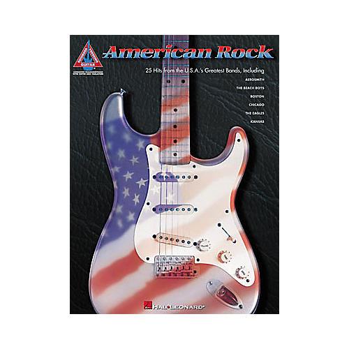 Hal Leonard American Rock Book