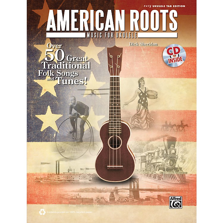 Alfred American Roots Music for Ukulele Book & CD