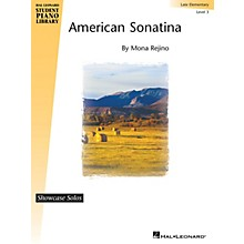 Hal Leonard American Sonatina Piano Library Series by Mona Rejino (Level Late Elem)