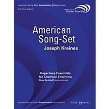 Boosey and Hawkes American Song-Set (for Chamber Ensemble) Windependence Chamber Ensemble Series by Joseph Kreines