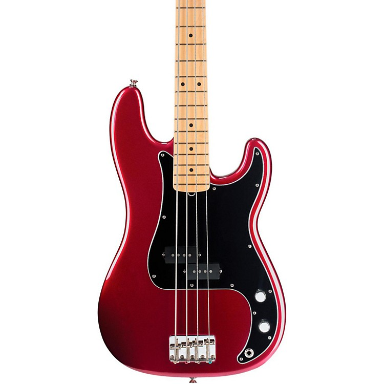 Fender American Special Precision Bass Candy Apple Red Maple Fretboard