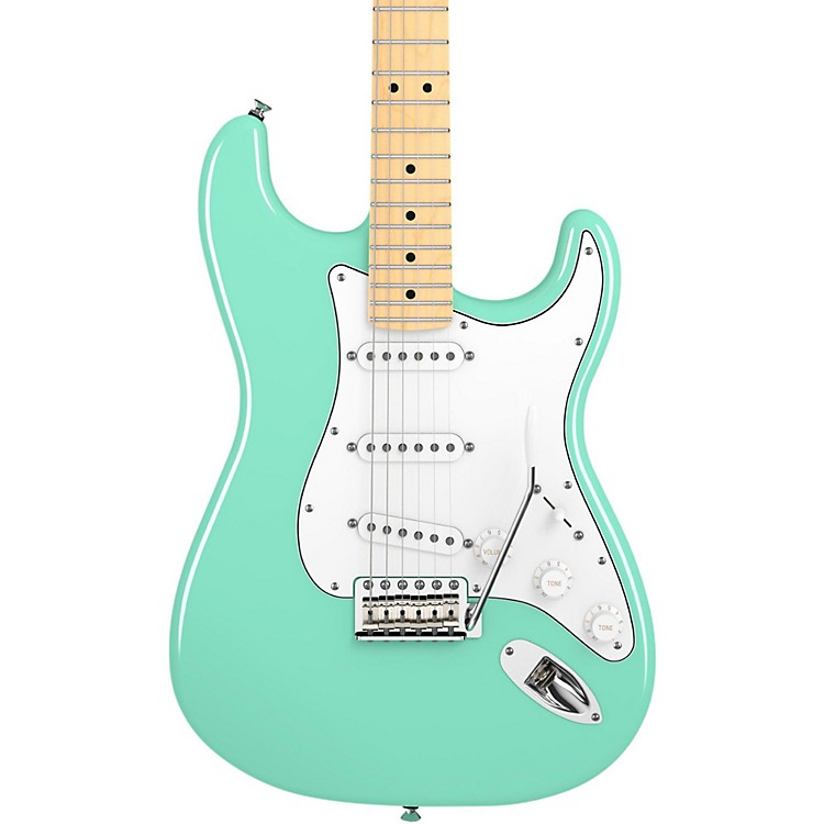 Fender American Special Stratocaster Electric Guitar Surf Green Maple