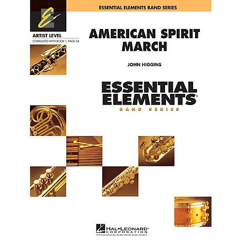 Hal Leonard American Spirit March Concert Band-thumbnail
