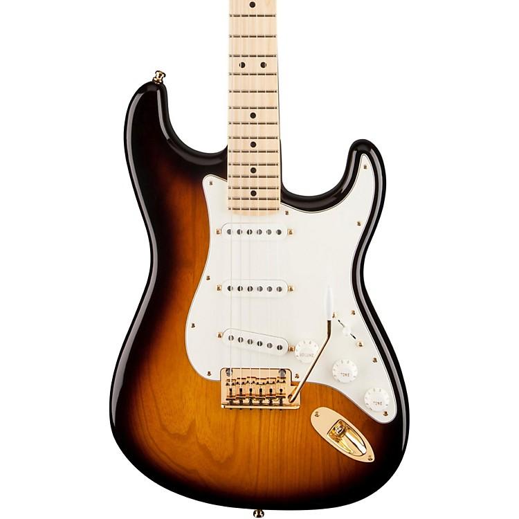 FenderAmerican Standard 60th Anniversary Commemorative Stratocaster Electric Guitar2-Color SunburstMaple Fingerboard