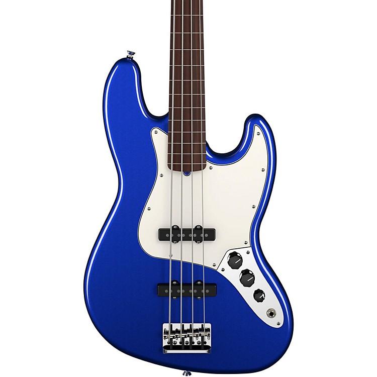 FenderAmerican Standard Jazz Bass FretlessMystic BlueRosewood Fingerboard