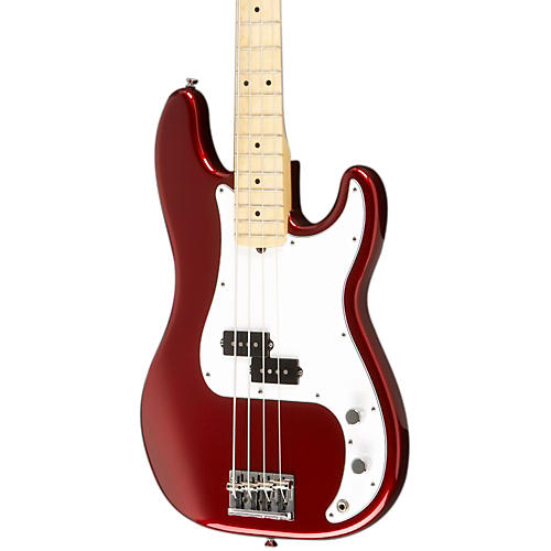 Fender American Standard Precision Bass with Maple Fingerboard Mystic Red Maple