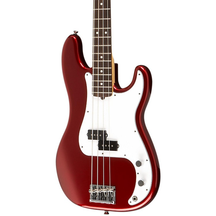 Fender American Standard Precision Bass with Rosewood Fingerboard Mystic Red Rosewood