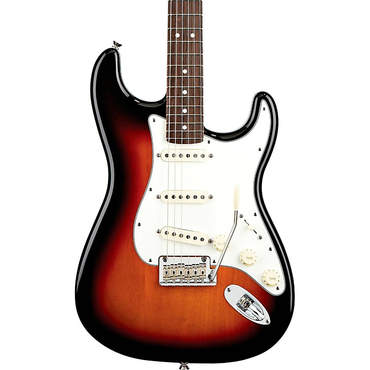 Fender American Standard Stratocaster Electric Guitar 3-Color Sunburst Rosewood Fingerboard