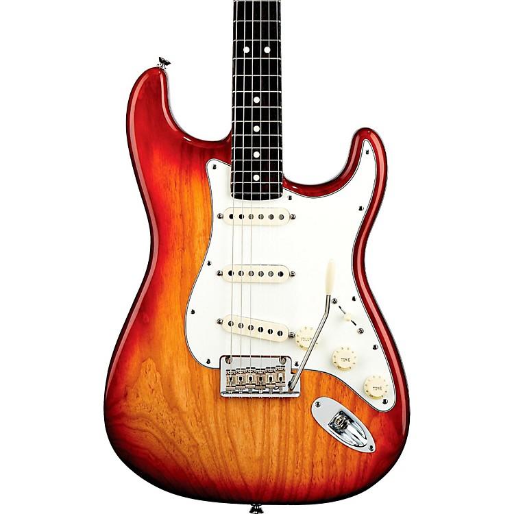 FenderAmerican Standard Stratocaster Electric GuitarSienna SunburstRosewood Fingerboard
