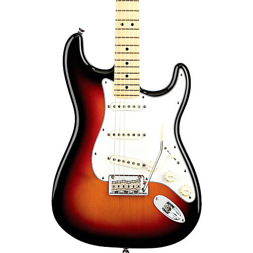 Fender American Standard Stratocaster Electric Guitar with Maple Fingerboard-thumbnail
