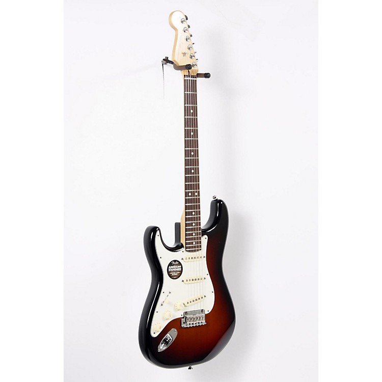 Fender American Standard Stratocaster Left-Handed Electric Guitar 3-Color Sunburst Rosewood Fingerboard