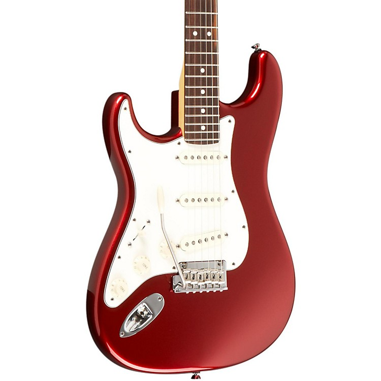 Fender American Standard Stratocaster Left-Handed Electric Guitar Mystic Red Rosewood