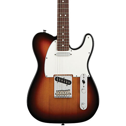 Fender American Standard Telecaster Electric Guitar with Rosewood Fingerboard 3-Color Sunburst Rosewood Fingerboard