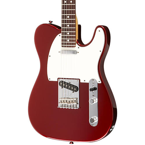 Fender American Standard Telecaster Electric Guitar with Rosewood Fingerboard Mystic Red Rosewood