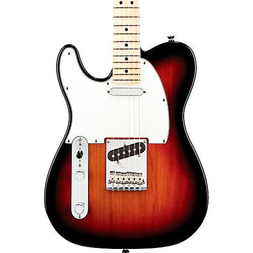 Fender American Standard Telecaster Left-Handed Electric Guitar with Maple Fingerboard