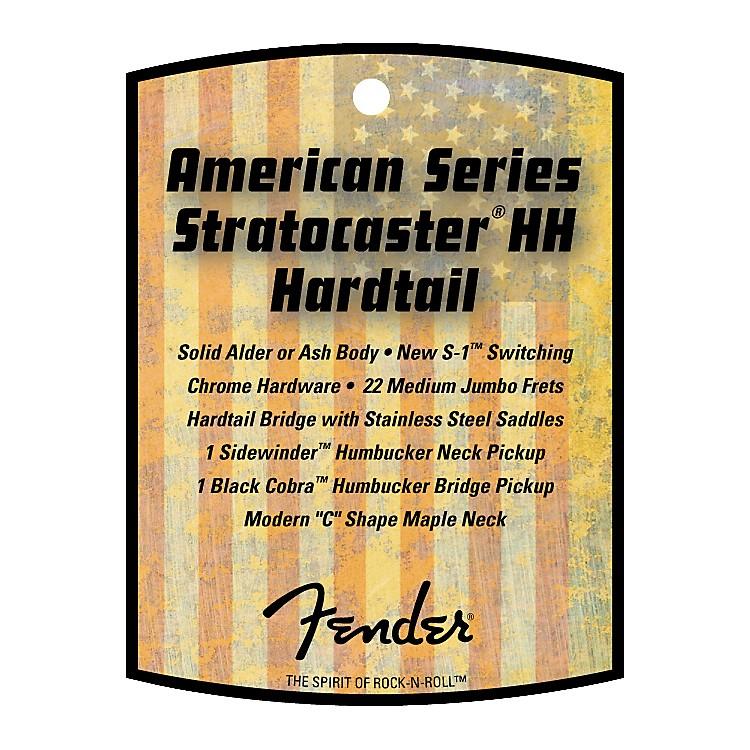 FenderAmerican Stratocaster HH Hard Tail Electric Guitar