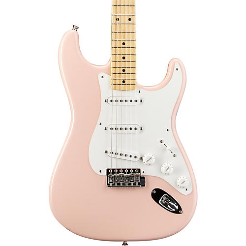 Fender American Vintage '56 Stratocaster Electric Guitar Shell Pink Maple Fingerboard
