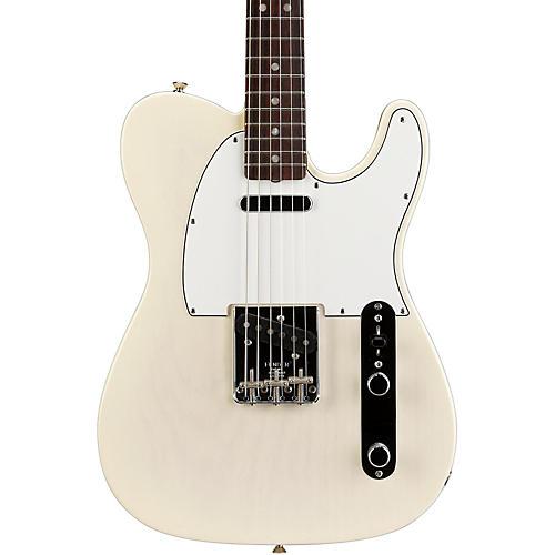 Fender American Vintage '64 Telecaster Electric Guitar Aged White Blonde Rosewood Fingerboard