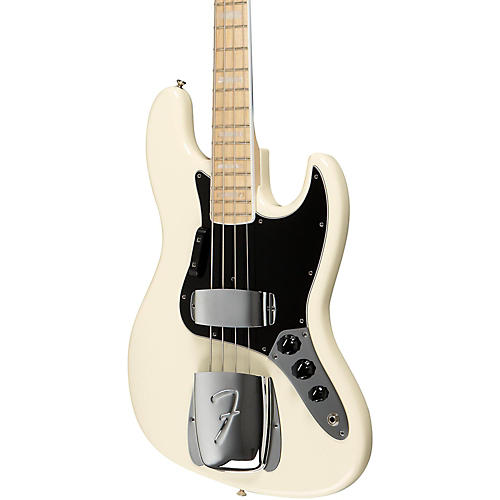 Fender American Vintage '74 Jazz Bass Olympic White Maple Fingerboard