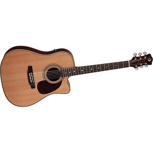 Luna Guitars Americana Classic Cutaway Acoustic-Electric Guitar