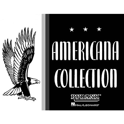 Rubank Publications Americana Collection for Band (1st Alto Saxophone) Concert Band Composed by Various-thumbnail