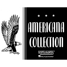 Rubank Publications Americana Collection for Band (Baritone B.C.) Concert Band Composed by Various