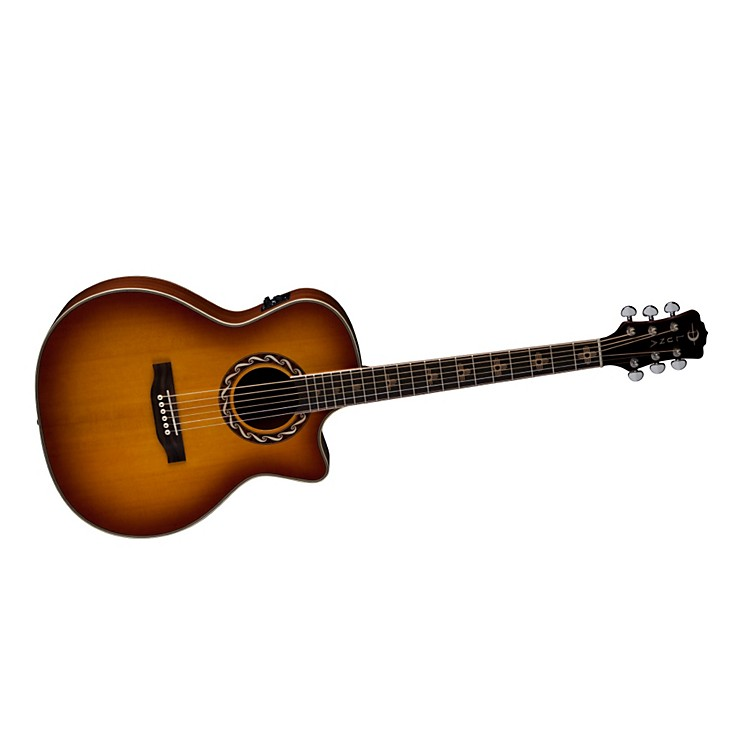 Luna Guitars Americana Inspired AMZ 100 Zia Acoustic-Electric Guitar