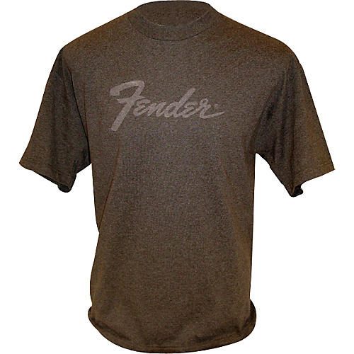 Fender Amp Logo T-Shirt Charcoal Medium