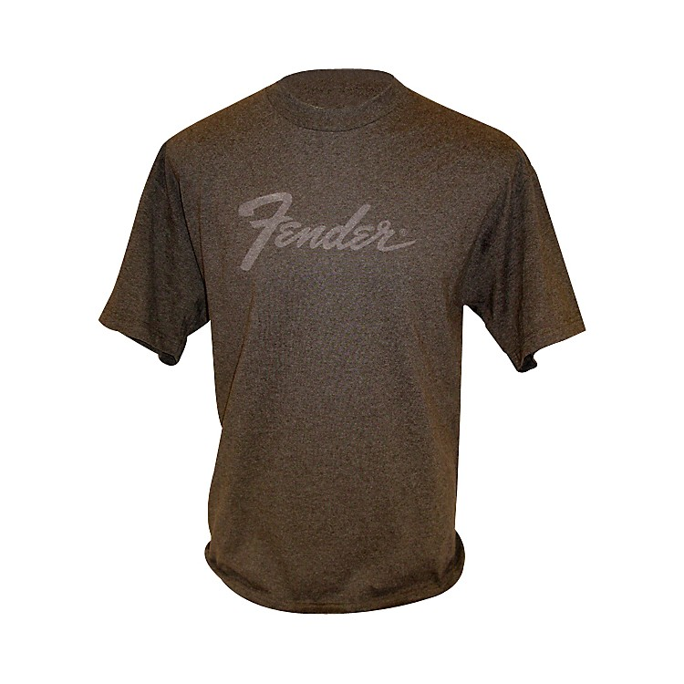 Fender Amp Logo T-Shirt Chocolate Small