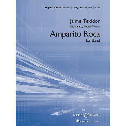 Boosey and Hawkes Amparito Roca (Condensed Score) Concert Band Composed by Jaime Texidor Arranged by Aubrey Winter