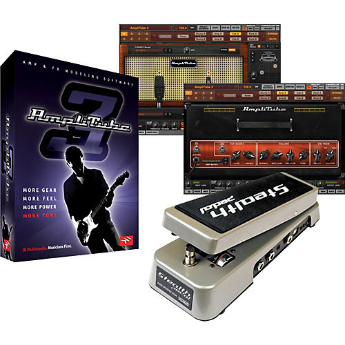 IK Multimedia AmpliTube 3 Software + StealthPedal USB-Powered Audio Interface/Software Controller