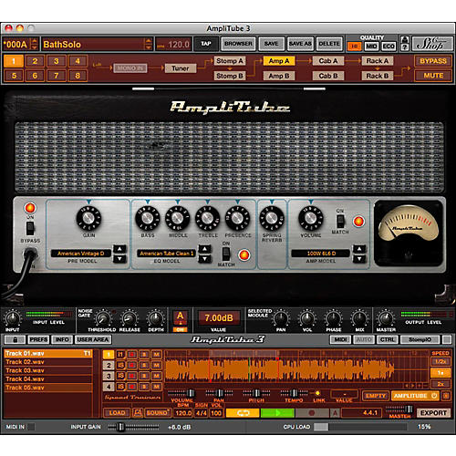 Amplitube 4 free download for windows
