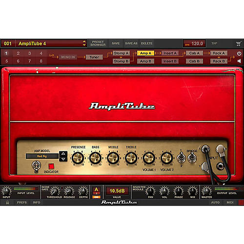 IK Multimedia AmpliTube 4 Metal Power DUO Bundle-thumbnail