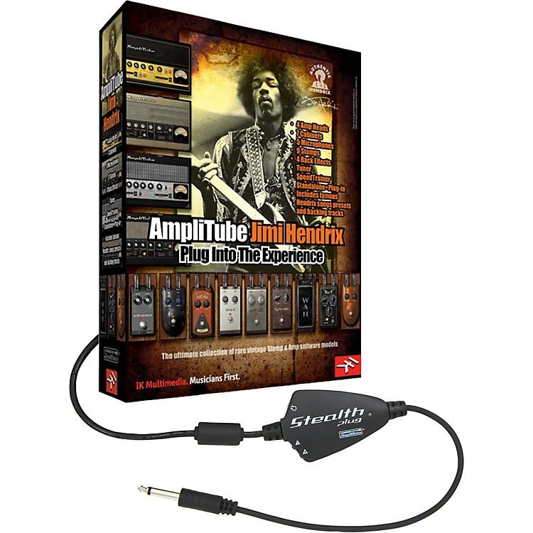 IK MultimediaAmpliTube Hendrix Studio Software/ Stealthplug USB Audio Interface Package