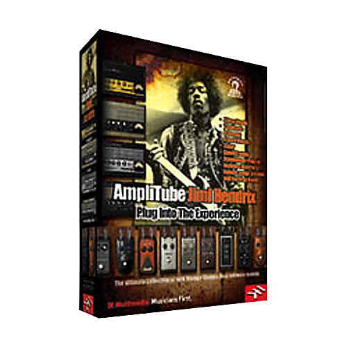IK Multimedia AmpliTube Jimi Hendrix Software Plug-In