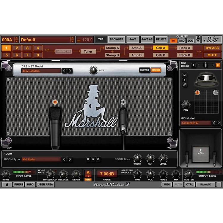 IK MultimediaAmpliTube Slash Software Download