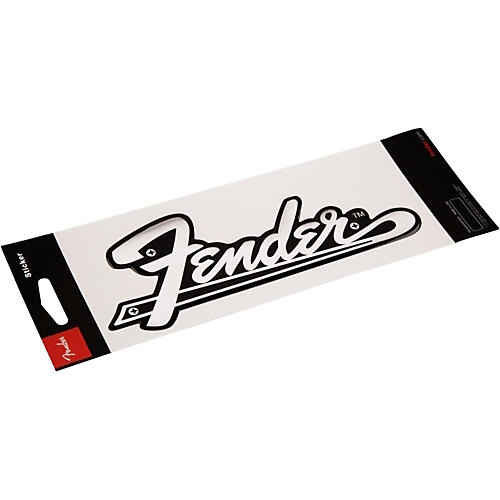 Fender Amplifier Logo 3D Sticker