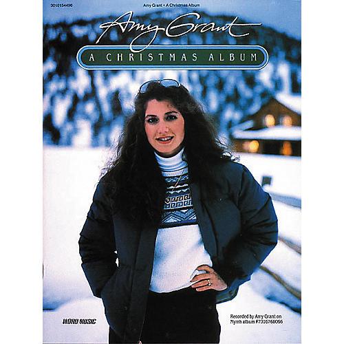 Word Music Amy Grant - A Christmas Album Book-thumbnail