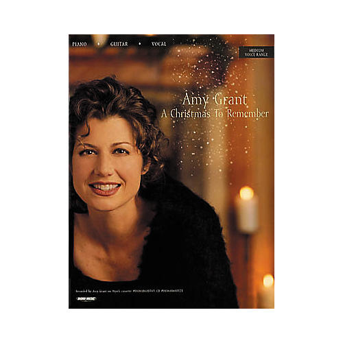 Word Music Amy Grant - A Christmas to Remember Book-thumbnail