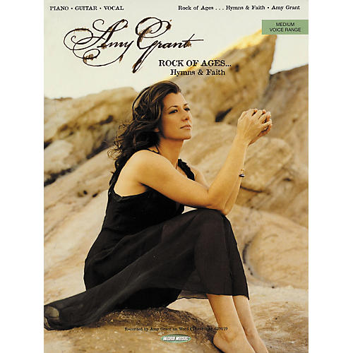Word Music Amy Grant - Rock of Ages Hymns and Faith Songbook-thumbnail