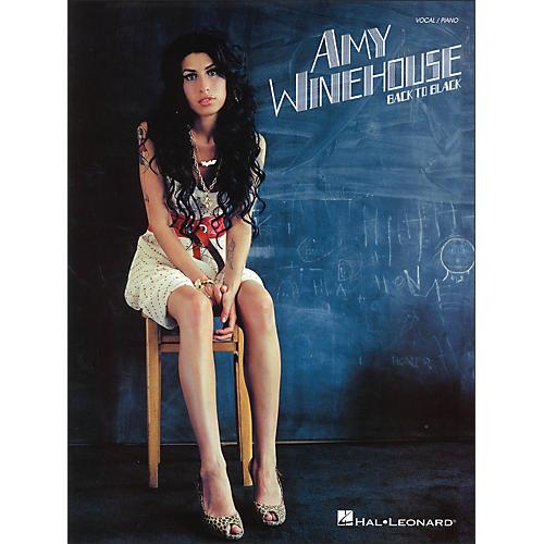 Hal Leonard Amy Winehouse - Back To Black (Vocal / Piano)-thumbnail